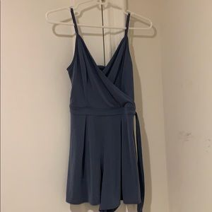 Abercrombie and Fitch periwinkle colter XS romper